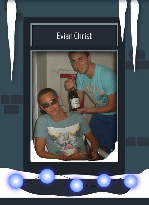 Evian Christ 2016