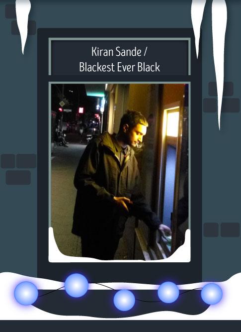 Kiran Sande / Blackest Ever Black 2016