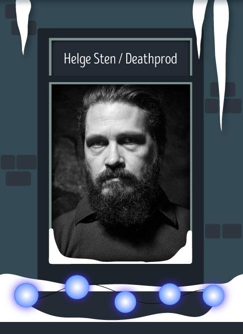 Helge Sten / Deathprod 2016