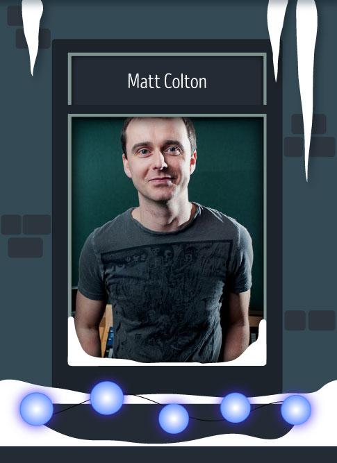 Matt Colton 2016
