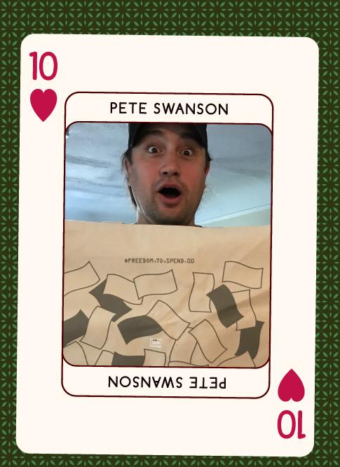 Pete Swanson 2017