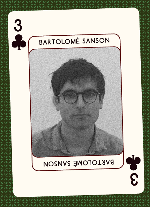 Bartolomé Sanson (Shelter Press) 2017