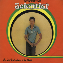 Scientist   introducing scientist best dub album in the world vinyl front