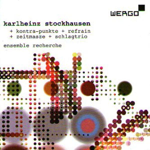 Resultado de imagen para stockhausen refrain wergo