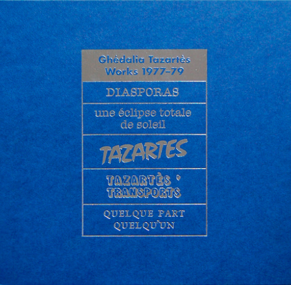 Ghedaliatazartes works1977