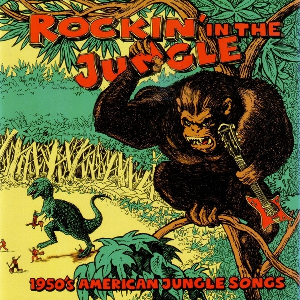 Various The Viper Label Rockin In The Jungle 1950s American Jungle Songs Boomkat