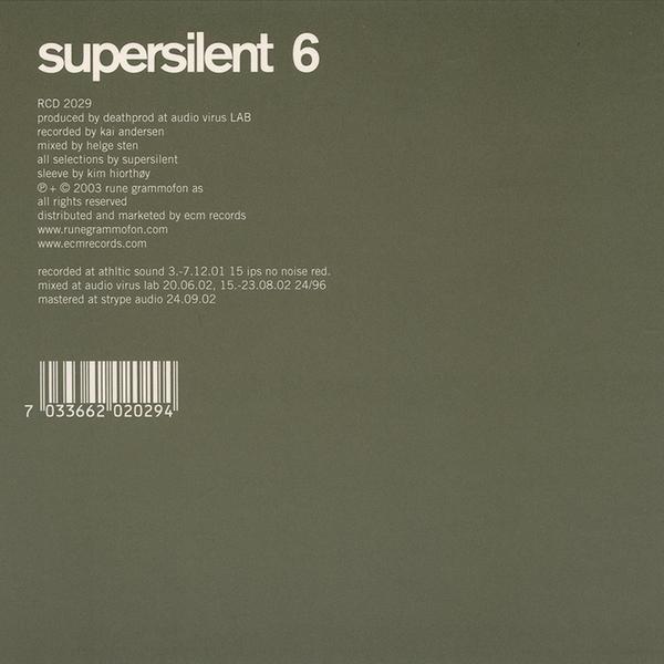 Supersilent6 1