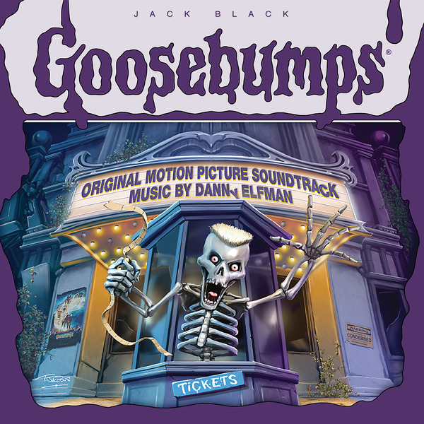 Goosebumps soundtrack danny elfman vinyl