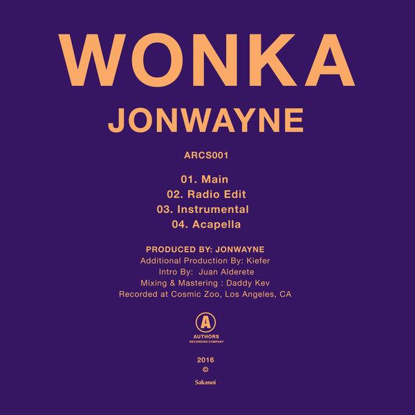 Jonwayne wonka