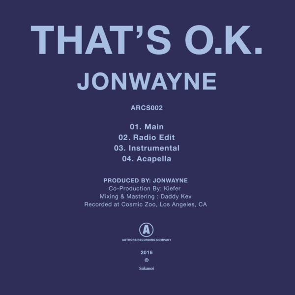 Jonwayne thatsok digicvr