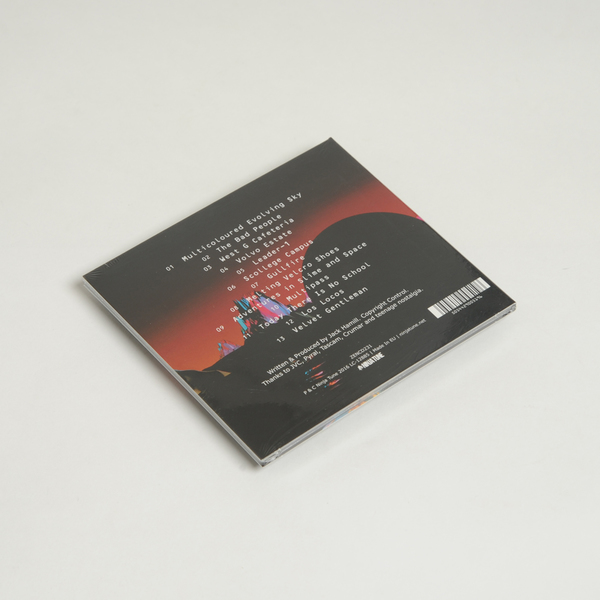 Orangemelamine cd back