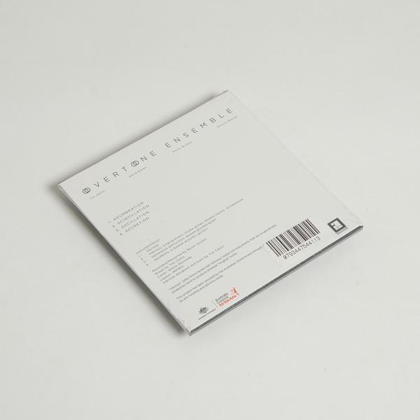 Overtoneensemble cd front
