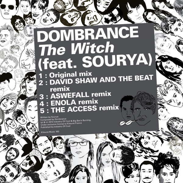 Dombrance - Kitsuné: The Witch (feat  Sourya) - EP