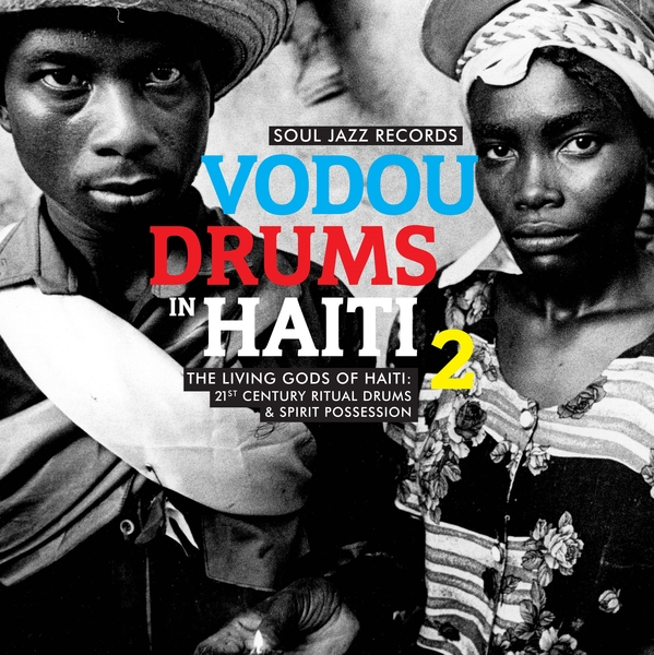 The Drummers of the Société Absolument Guinin - Vodou Drums