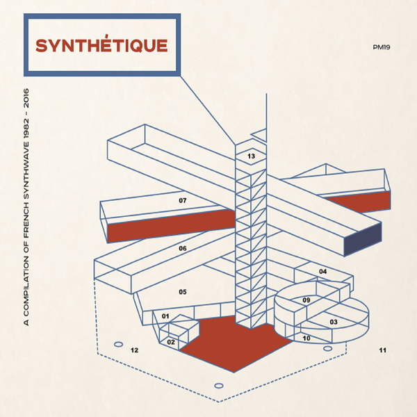 Various artists synthtique a french synthwave compilation 1982 2016