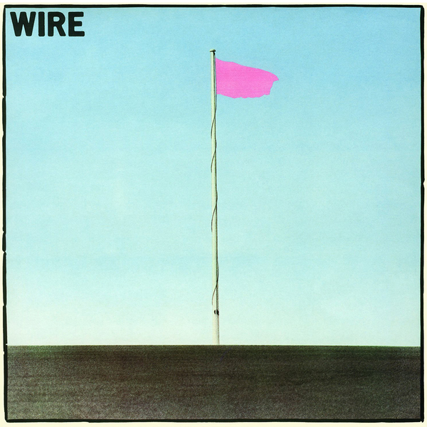 Wire pinkflag