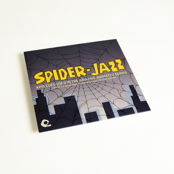 Various Artists - Spider-Jazz – KPM Cues Used In The Amazing Animated  Series - That We Are Not Allowed To Mention For Legal Reasons