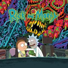 Rickandmorty soundtrack cover digital 3000x3000