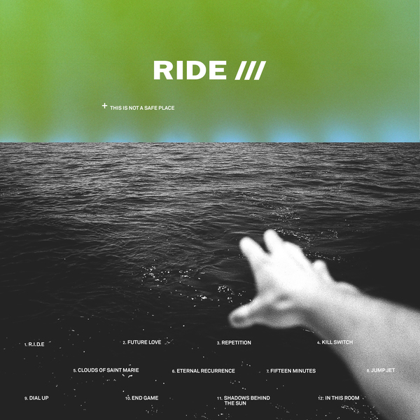 Ride   this is not a safe place packshot