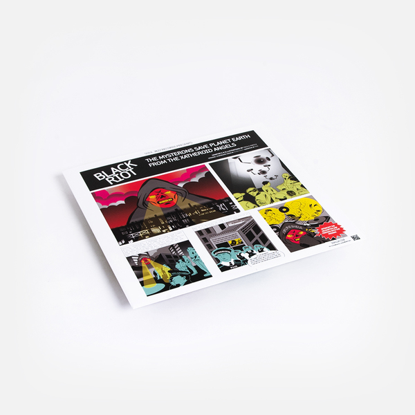 Black riot vinyl 2 1