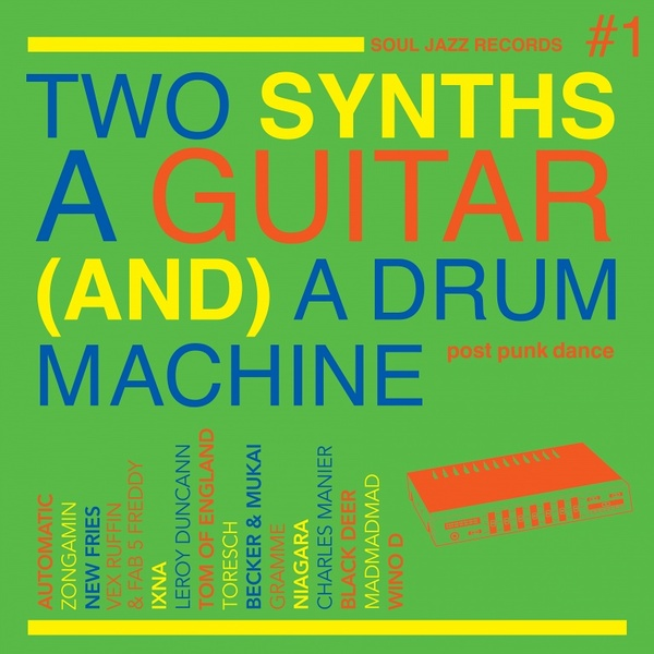 Sjr lp462 two synths sleeve