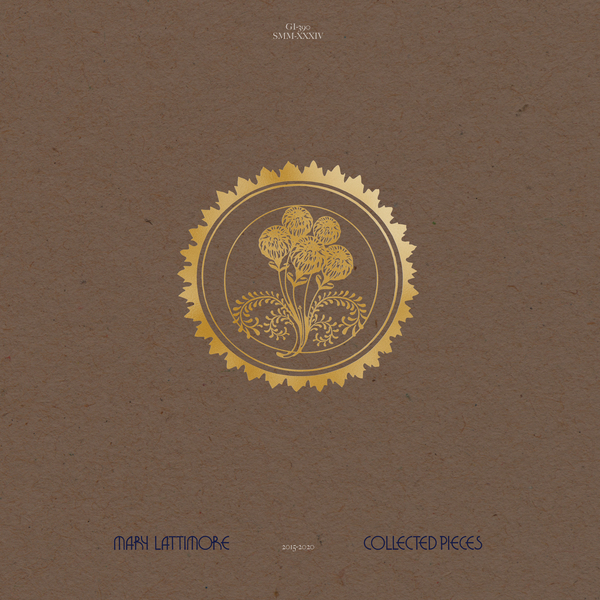 Mary lattimore   collected pieces 2015 2020   gi390lp   packshot